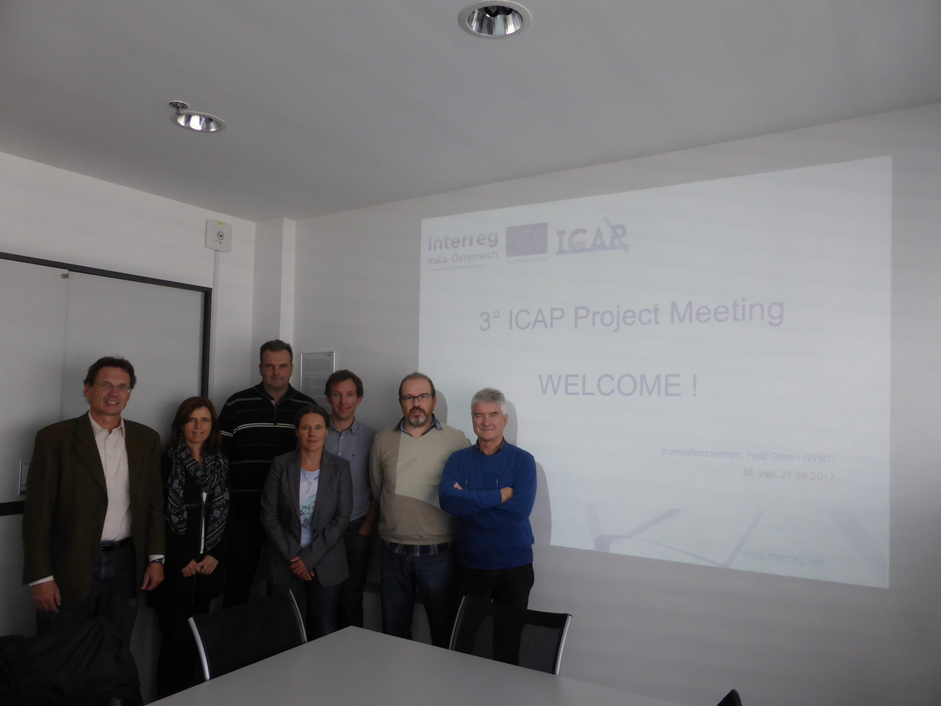 3rd ICAP Project meeting