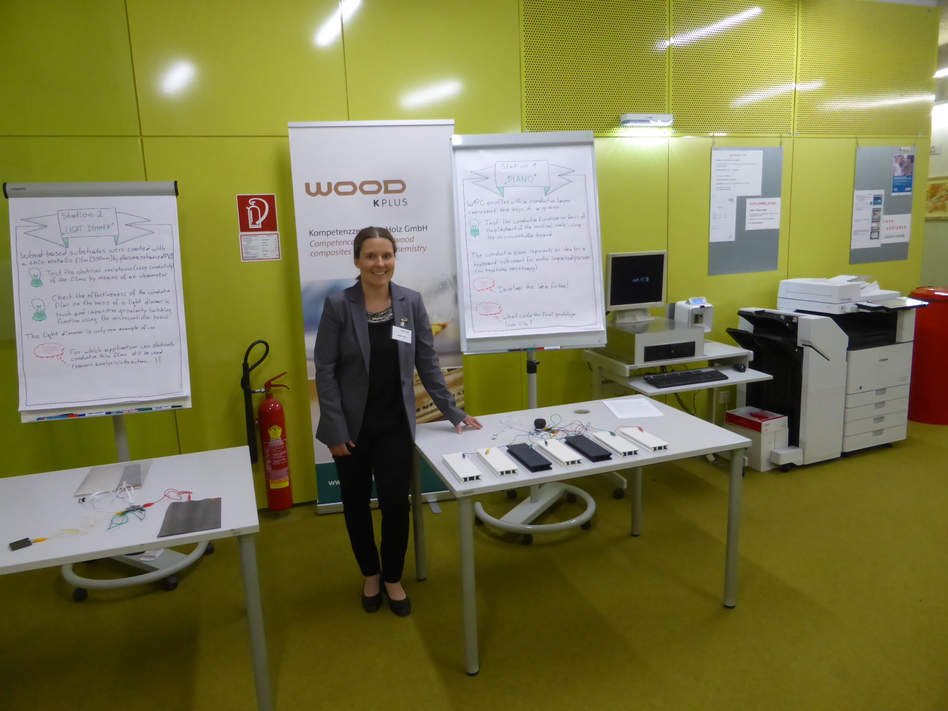 Il Progetto ICAP presentato al BioEnergy Train Student Camp di Linz